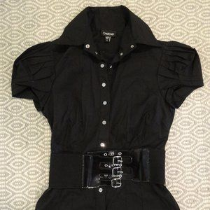 bebe Tops - BEBE Fitted Top with Belt